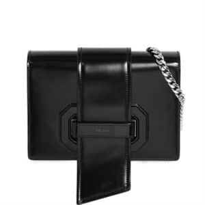Prada Black Plex Ribbon Bag