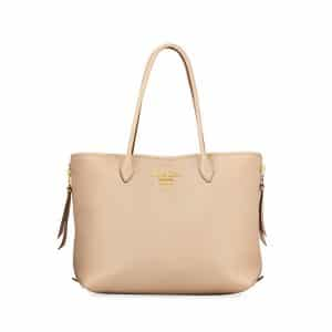 Prada Blush Daino Double Handle Tote Bag