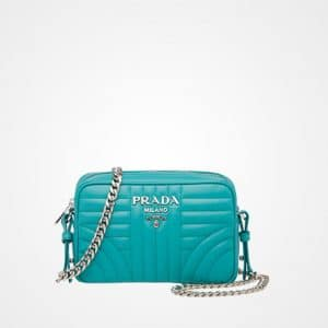 Prada Jade Green Diagramme Cross-body Bag