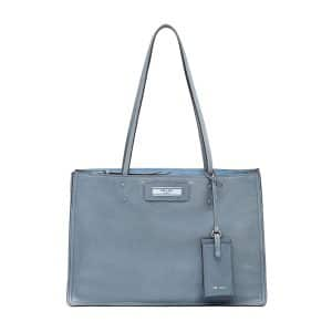 Prada Light Blue Etiquette Tote Bag