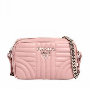 Prada Light Pink Diagramme Cross-body Bag