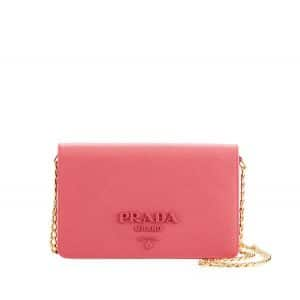 Prada Pink Monochrome Small Cross-body Bag