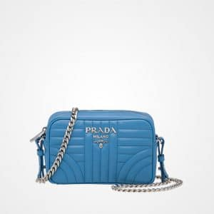 Prada Sea Blue Diagramme Cross-body Bag
