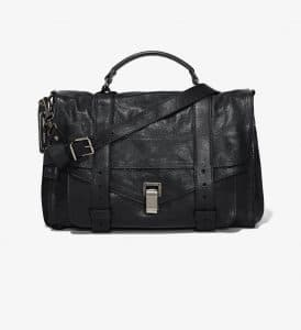 Proenza Schouler Black PS1 Large Bag