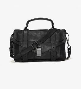 Proenza Schouler Black PS1 Tiny Bag
