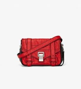 Proenza Schouler Cardinal Zip PS1+ Mini Crossbody Bag