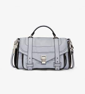 Proenza Schouler Dove Grey Zip PS1+ Medium Bag
