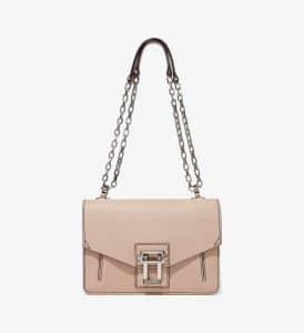Proenza Schouler Sand Pebbled Leather Hava Chain Shoulder Bag