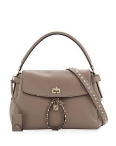 Valentino Beige Twiny Top Handle Bag