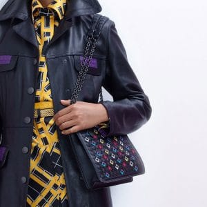 Bottega Veneta Black Embroidered Montebello Bag - Pre-Fall 2018