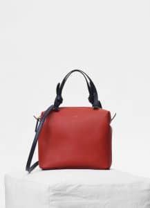 Celine Claycourt Smooth Calfskin Small Soft Cube Bag