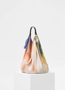 Celine Multicolour Silk Scarf Bag