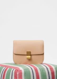 Celine Nude Medium Classic Box Bag