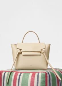 Celine Sunlight Grained Calfskin Micro Belt Bag