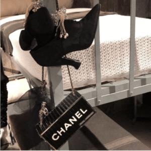 Chanel Black Minaudiere Bag - Pre-Fall 2018