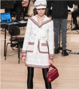 Chanel Red Metallic Shoulder Bag - Pre-Fall 2018