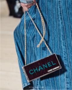 Chanel Violet Minaudiere Bag - Pre-Fall 2018