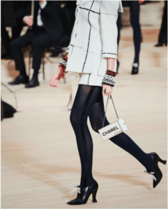 Chanel White Minaudiere Bag - Pre-Fall 2018