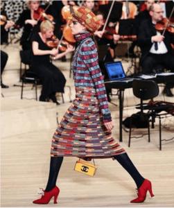 Chanel Yellow Minaudiere Bag - Pre-Fall 2018