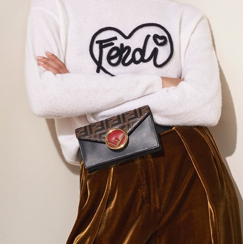 8f4d83534ee1 Fendi Pre-Fall 2018 Bag Collection Features Heart Patterns