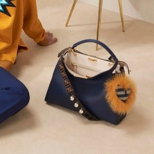 Fendi Blue Peekaboo Bag - Pre-Fall 2018