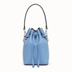 Fendi Light Blue Mon Tresor Bucket Bag