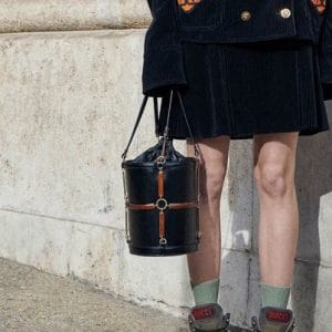Gucci Black Bucket Bag - Pre-Fall 2018