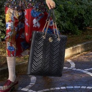 Gucci Black GG Marmont Tote Bag 2 - Pre-Fall 2018