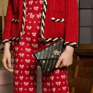 Gucci Black Printed Mini Clutch Bag - Pre-Fall 2018