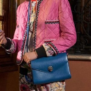 Gucci Blue Flap Bag - Pre-Fall 2018