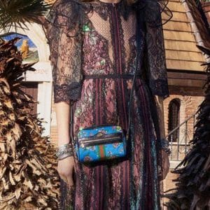 Gucci Blue Floral Camera Bag - Pre-Fall 2018
