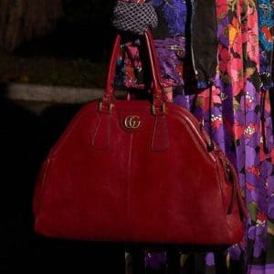 Gucci Red Top Handle Bag - Pre-Fall 2018