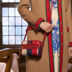 Gucci Red/Blue Camera Bag - Pre-Fall 2018