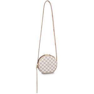 Louis Vuitton Damier Azur Canvas Boite Chapeau Souple PM Bag
