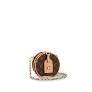Louis Vuitton Monogram Canvas Boite Chapeau Necklace Bag