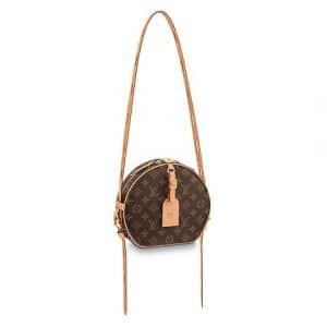 Louis Vuitton Monogram Canvas Boite Chapeau Souple MM Bag