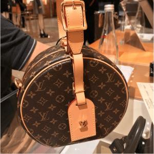 41924971fd1d Louis Vuitton Monogram Canvas Petite Boite Chapeau Bag 2. IG  dirky uy