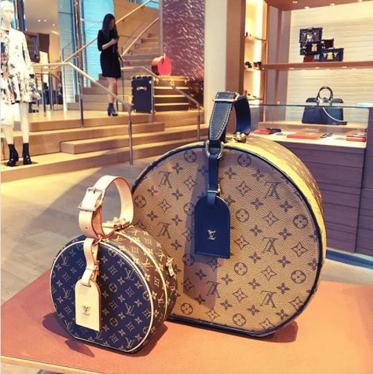 2c9adf02220f Louis Vuitton Monogram Canvas Petite Boite Chapeau Bag 3. IG  b yue