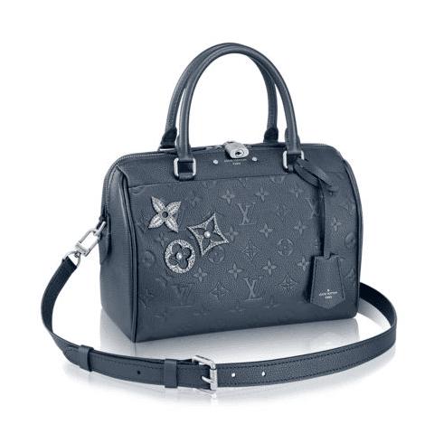 Louis Vuitton Monogram Empreinte Speedy Bandoulière 25 Bag