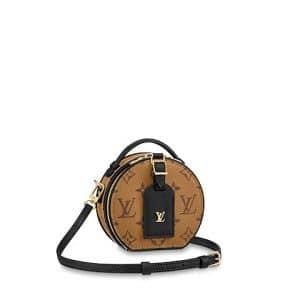 Louis Vuitton Monogram Reverse Mini Boite Chapeau Bag