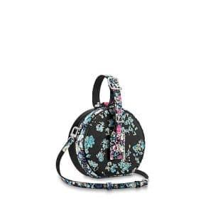 Louis Vuitton Multicolor Floral Print Petite Boite Chapeau Bag