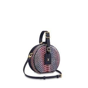 Louis Vuitton Python LV Pop Petite Boite Chapeau Bag