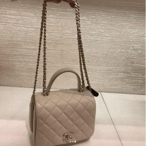 Chanel Beige Citizen Chic Mini Flap Bag 2