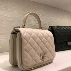 Chanel Beige Citizen Chic Mini Flap Bag 3