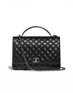 Chanel Black Citizen Chic Medium Flap Bag