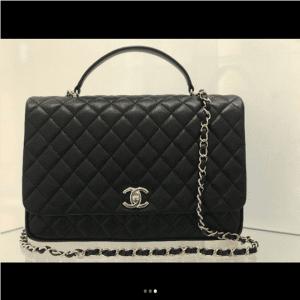 Chanel Black Citizen Chic Medium Flap Bag