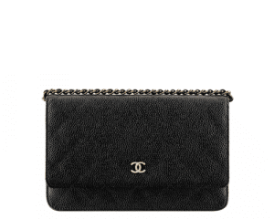Chanel Black Classic Quilted WOC