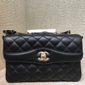 Chanel Black Daily Companion Large Flap Bag