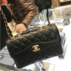 Chanel Black Daily Companion Medium Flap Bag