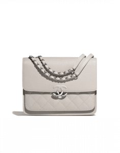 Chanel Gray Urban Companion Small Flap Bag